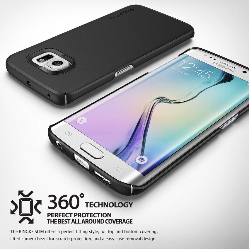 Rearth Ringke For Samsung S6 edge Plus Slim Black