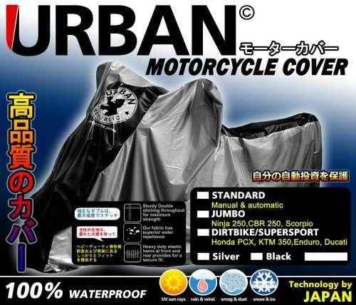 Harga Cover / selimut / pelindung motor URBAN - JUMBO [MURAH +anti air ]