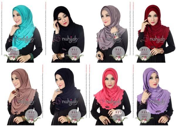 Nuhijab PSI PLEATED - Jilbab Instan Hijab Kreasi