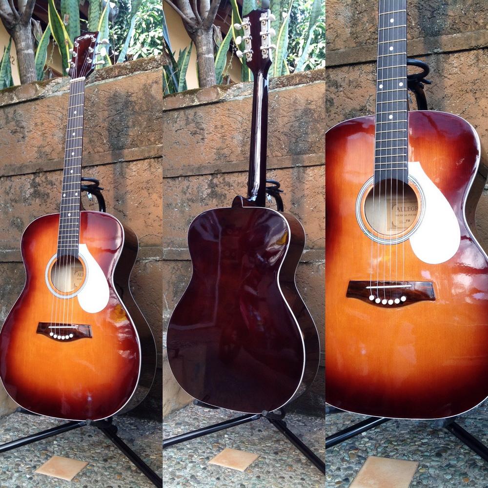 harga jual akustik gitar string allegro seri FM include softcase di bandung Tokopedia.com