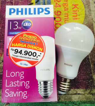 Jual LAMPU PHILIPS LED 13 WATT