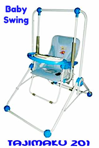 BABY SWING / AYUNAN BAYI TAJIMAKU 201 BLUE
