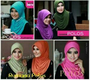 Hijab Instant Rumana Polos