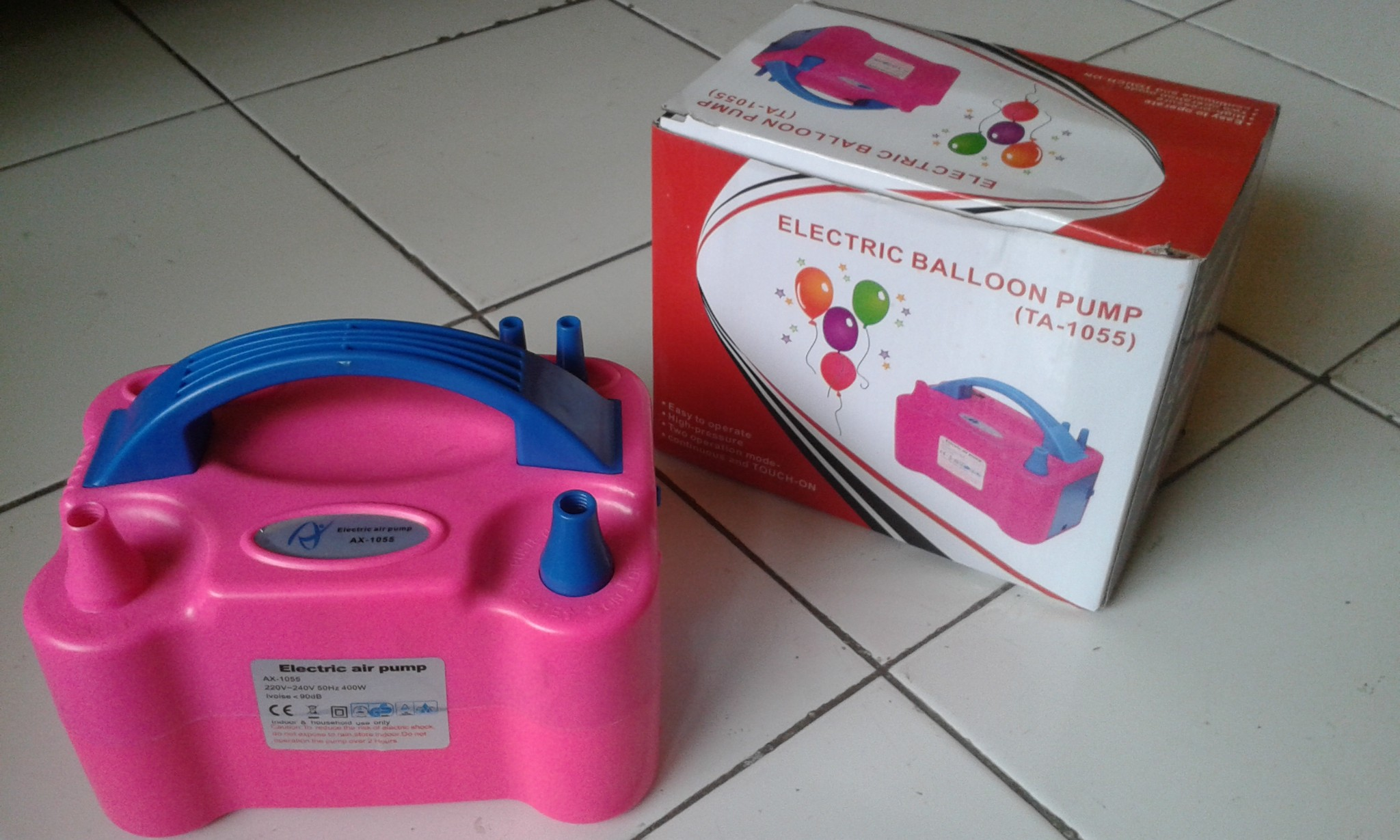 Jual Pompa Balon Elektrik Al Shop Tokopedia Listrik Electric Balloon Pump