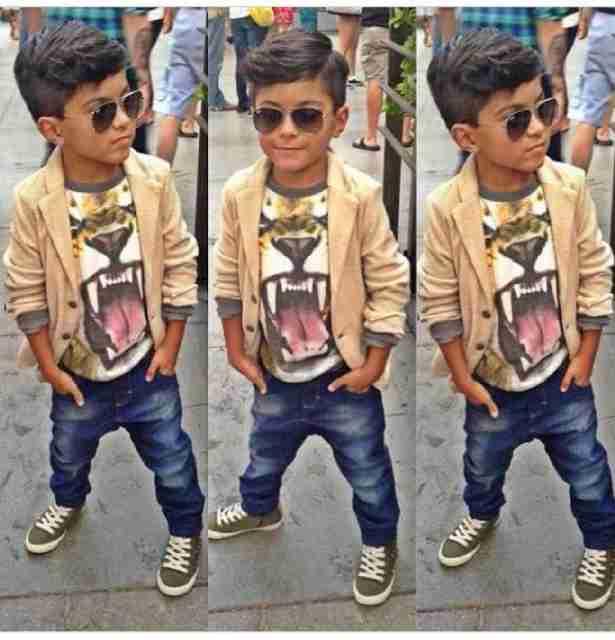 [tiger boys VL] pakaian setelan anak laki-laki