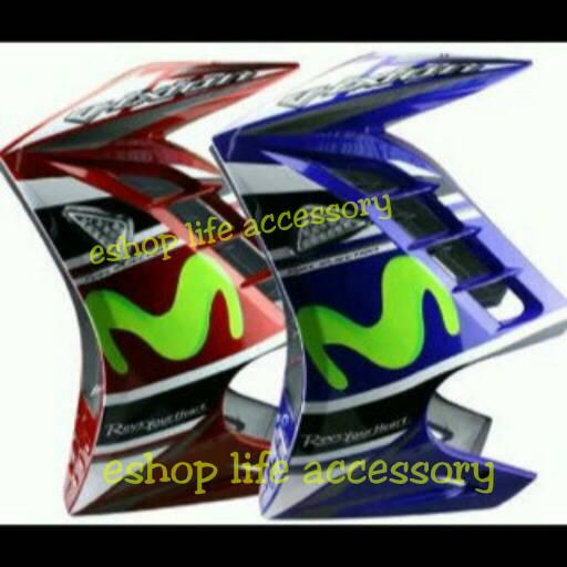 Aksesoris Half Fairing Syap samping Yamaha Vixion Model  Ninja 250fi