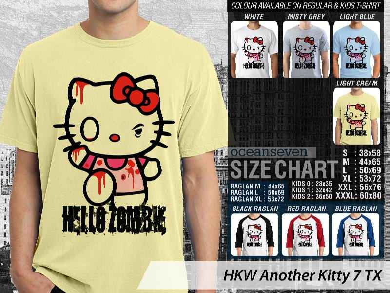 KAOS DISTRO OCEANSEVEN - HELLO KITTY EDITION