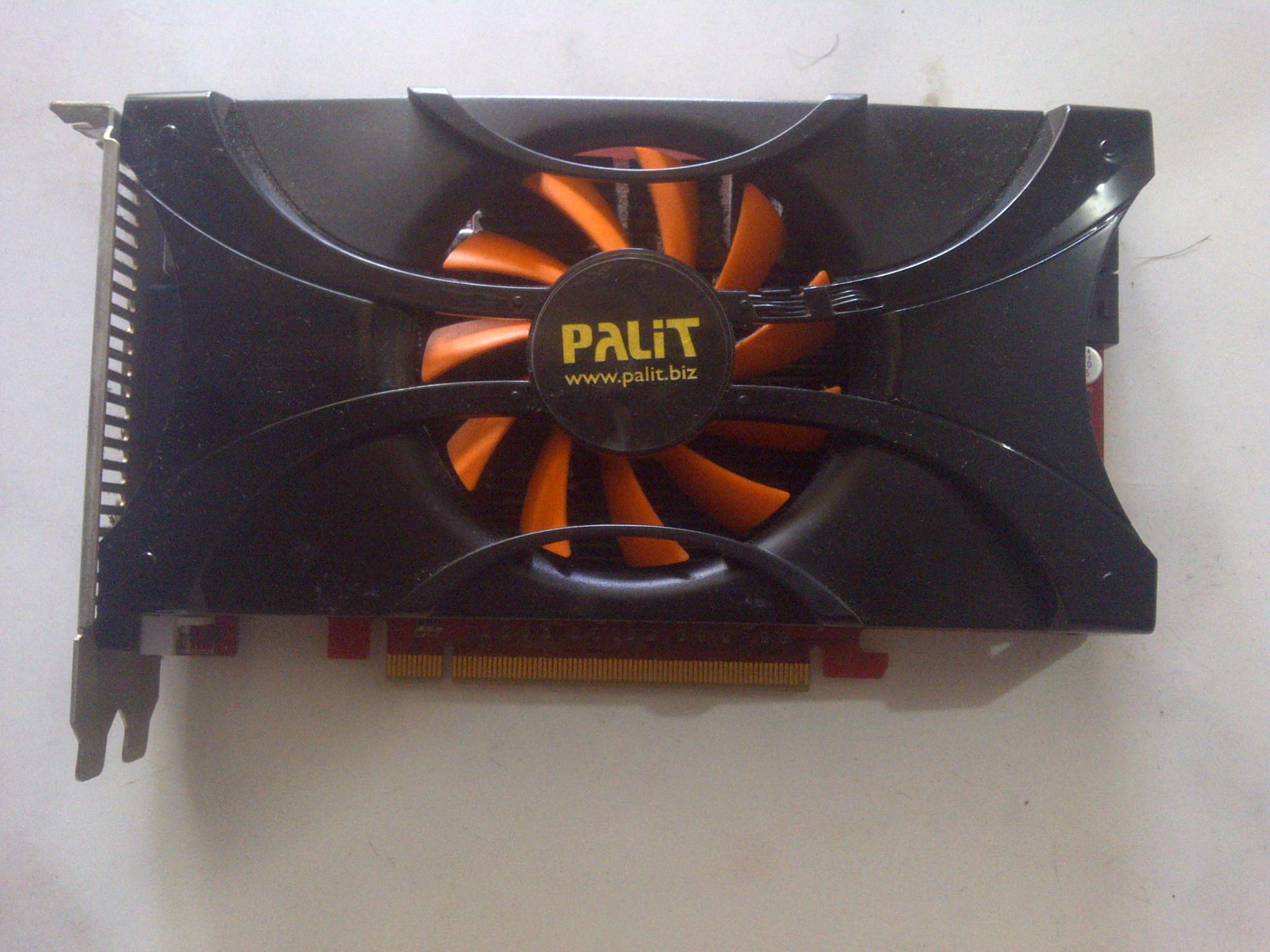 Jual VGA Palit Nvidia GeForce GTX 460 1GB batangan - Kab