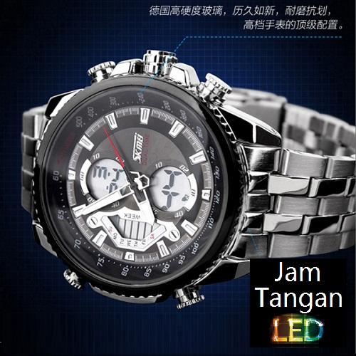 SKMEI Elgrand 0993 Hitam Original Jam Tangan Import Murah Tahan Air