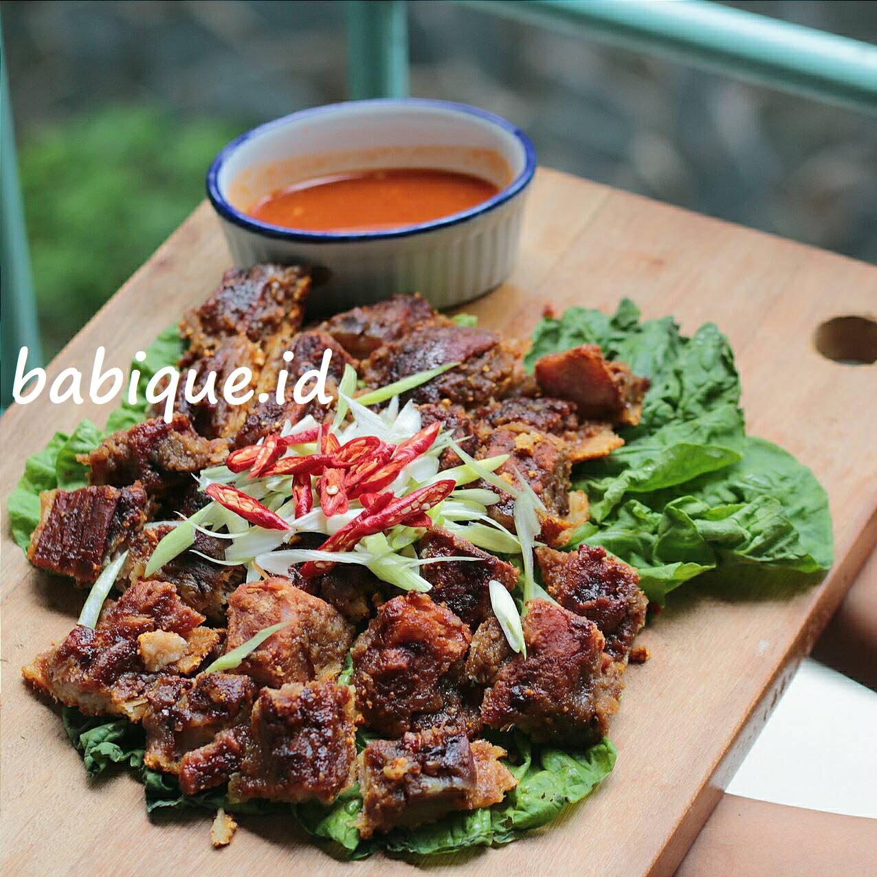 Jual Babi Panggang Bangka 1 Kg Babique Id Tokopedia