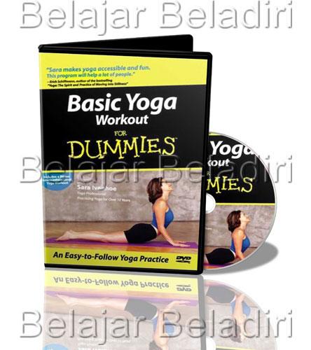 Jual DVD Senam Yoga Untuk Pemula Basic Yoga Workout Sara