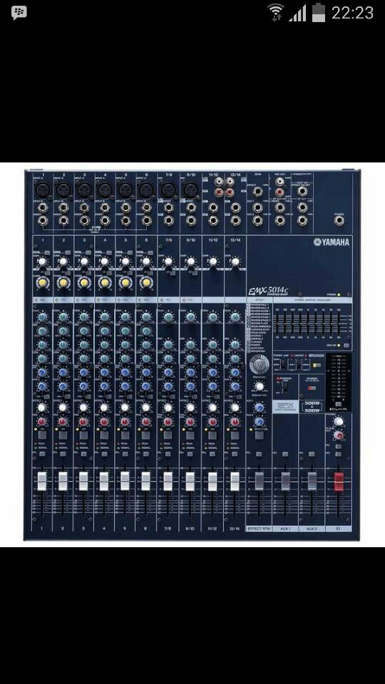Power mixer Yamaha EMX 5014c ( 14 channel )