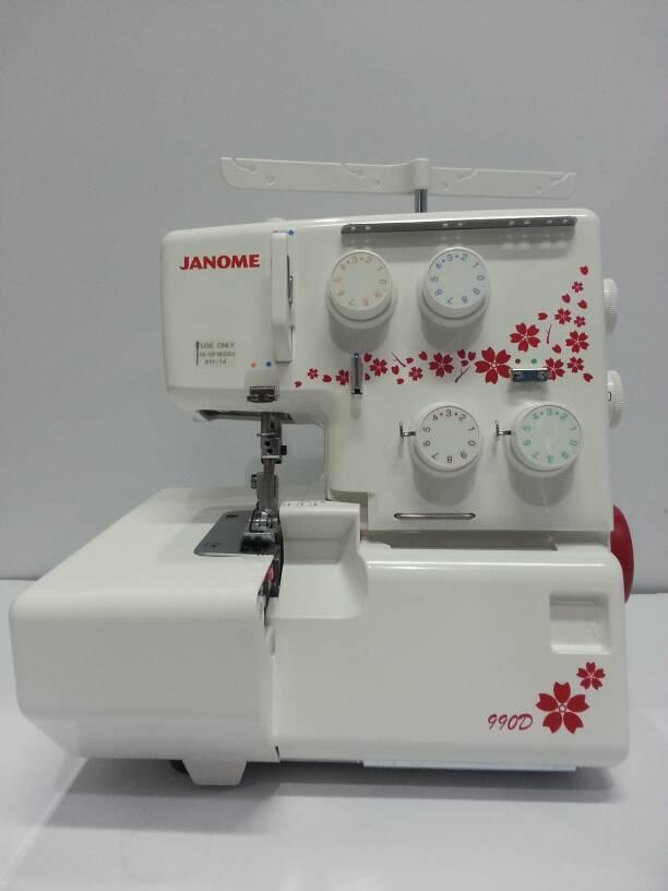 Mesin Obras JANOME 990D (Portable)