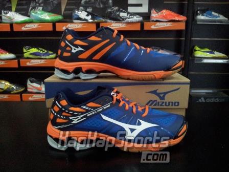 Jual Sepatu Voli Mizuno Ori - Wave Lightning Z Biru - Hap Hap Sport Shop  b1a507e584