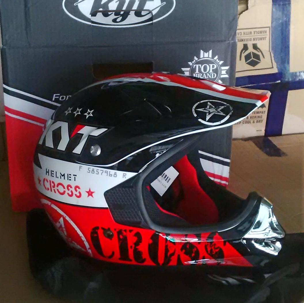 Helm Trail KYT Cross Pro