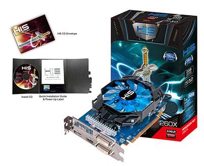 VGA HIS AMD RADEON R7 260X ICOOLER 2g D5