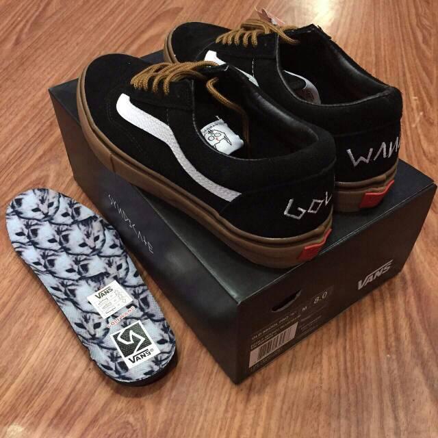 sepatu vans old skool golf wang icc bnib premium