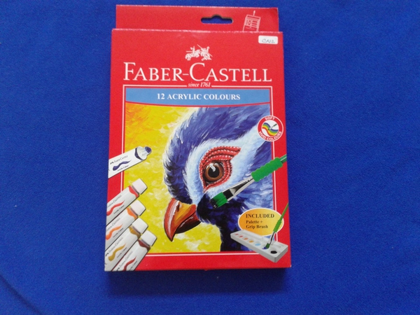 FABER ACRYLIC COLOURS 12