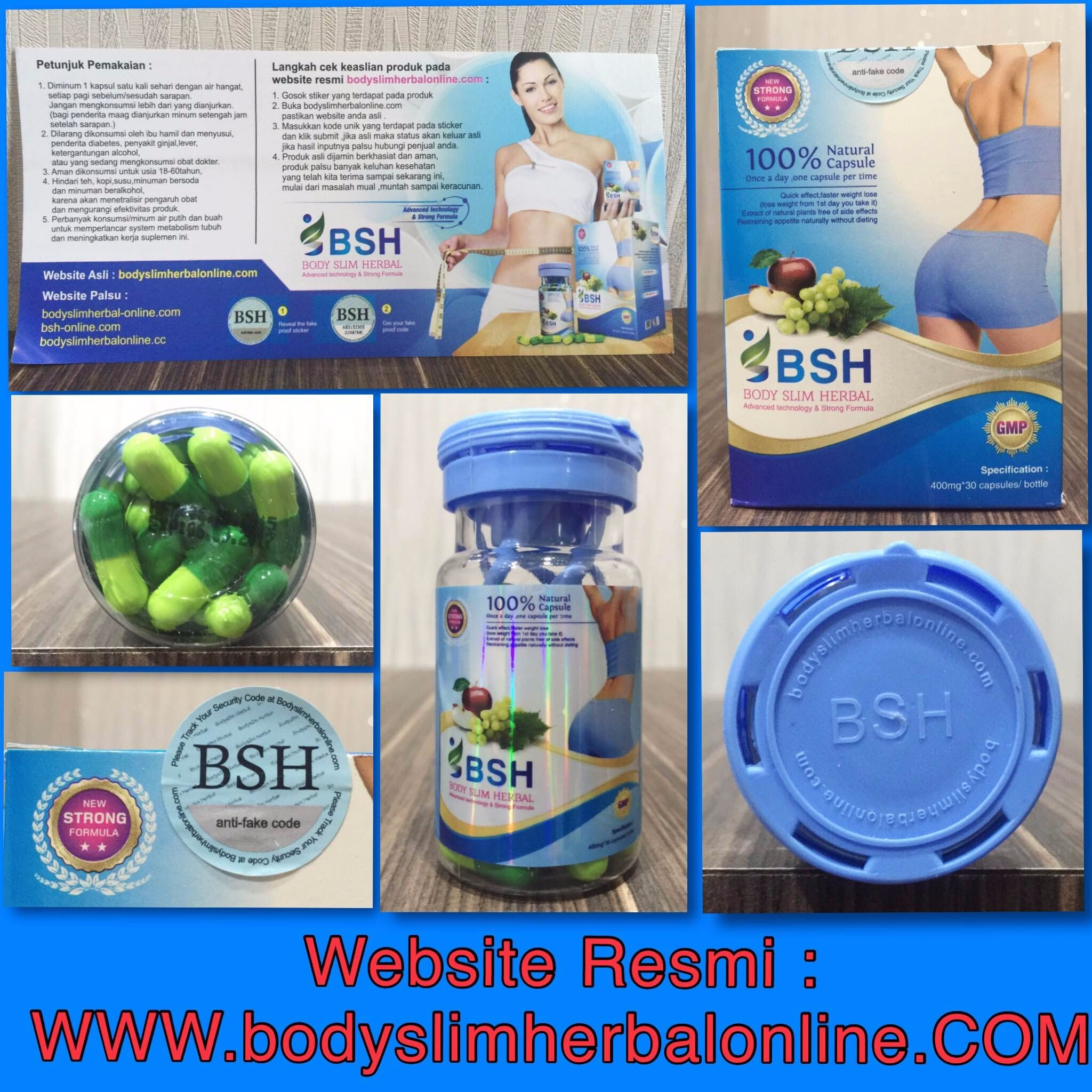 BSH Original Body Slim Herbal