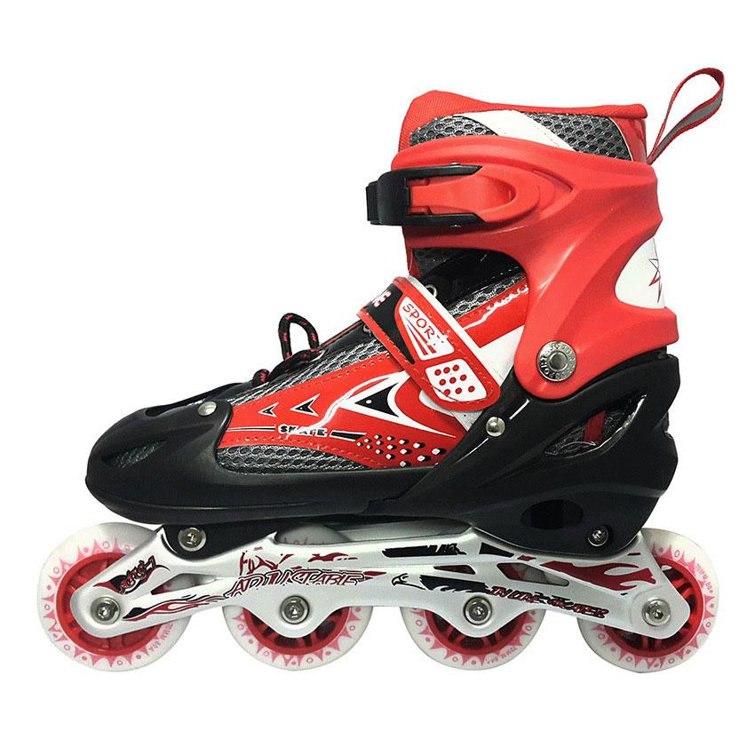 Jual Sepatu Roda POWER LINE INLINE SKATE MERAH 6032 ... f7aca5a34c