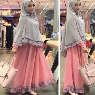 Marshanda Bergo Set | Setelan Hijab | Jersey