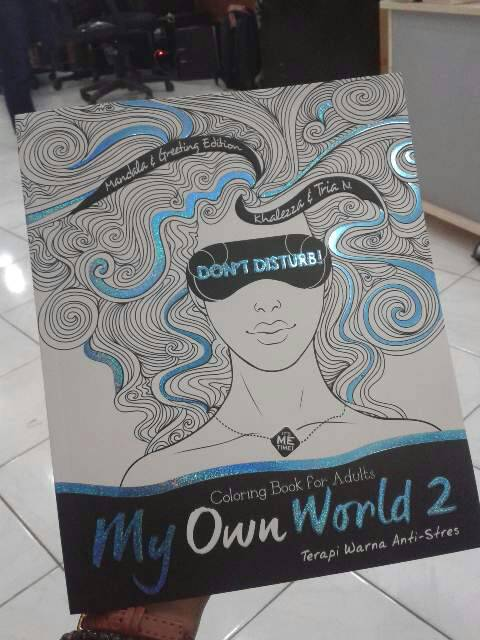 Jual Coloring Book For Adults My Own World 2