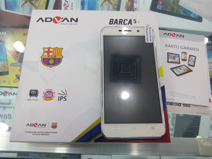 Jual Handphone HP Advan S5Q Intenal 8GB RAM 1GB