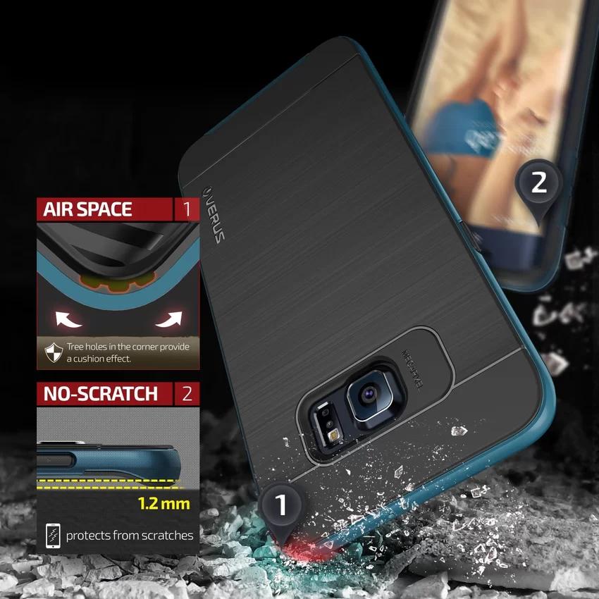 Verus Samsung Galaxy S6 Edge Plus High Pro Shield - Electric Blue