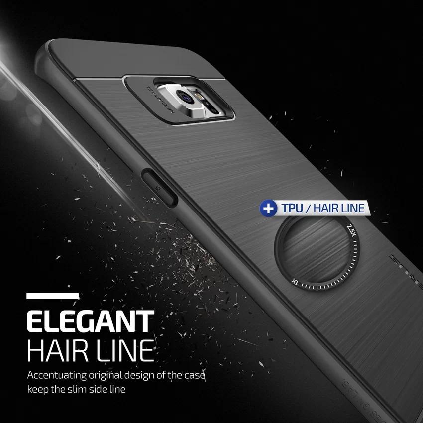 Verus Samsung Galaxy S6 Edge Plus High Pro Shield Steel - Silver