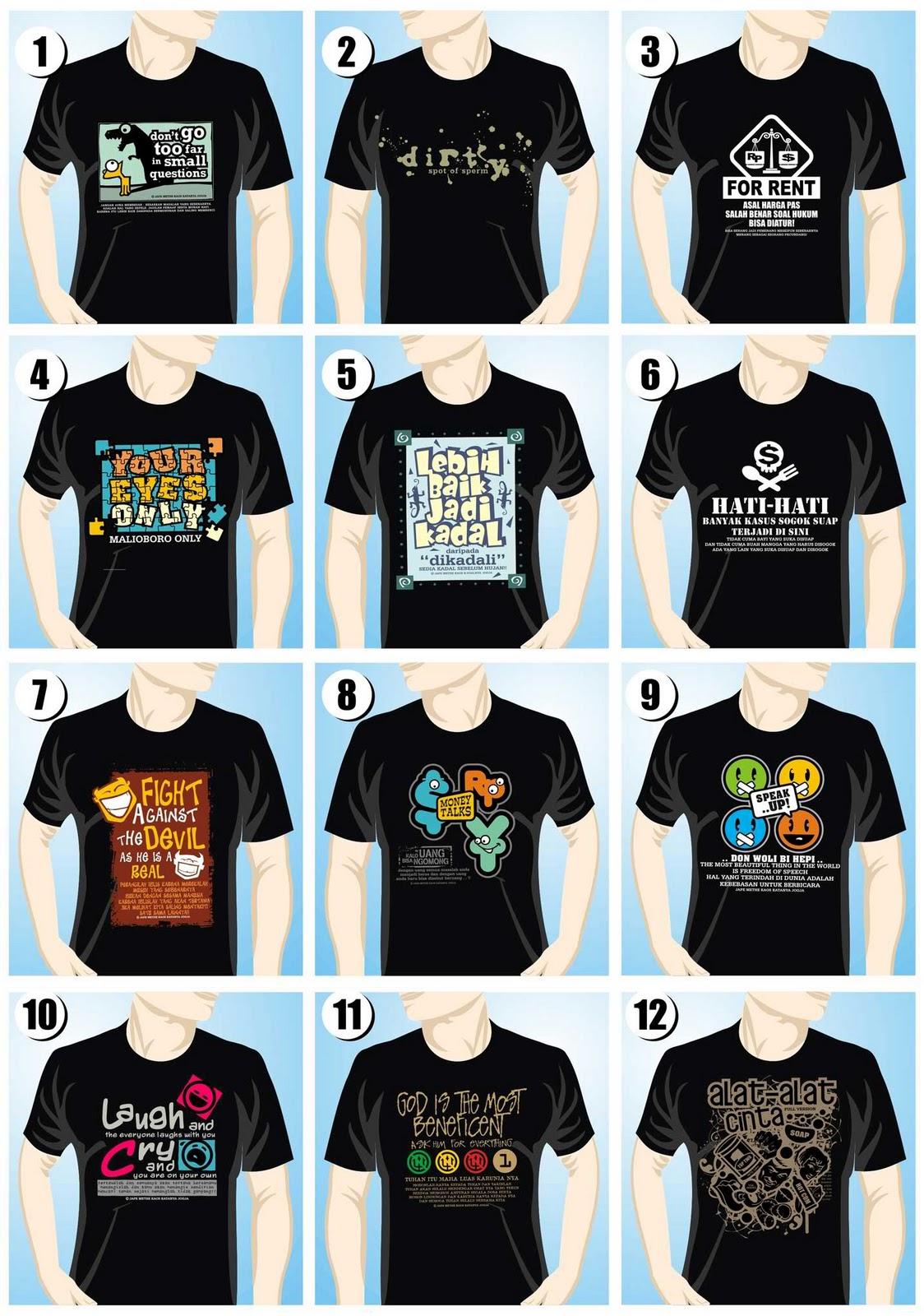 Desain Kaos Distro Kata Kata - Koleksi Gambar HD