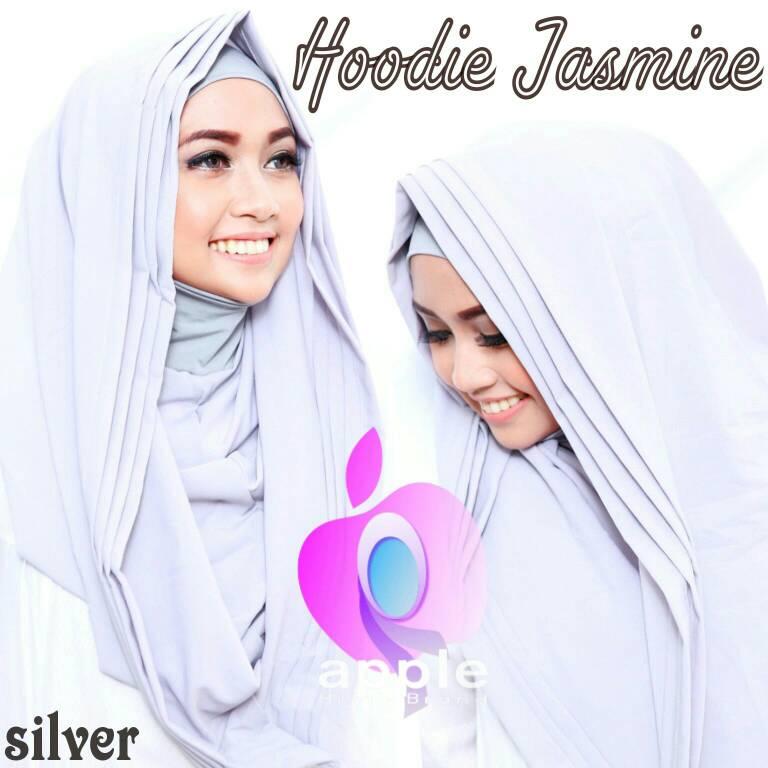 Hoodie Lipit Jasmine By Apple Hijab Brand
