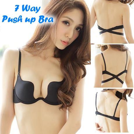 Uplunge backless pushup bra  Victorias Secret  Polyvore