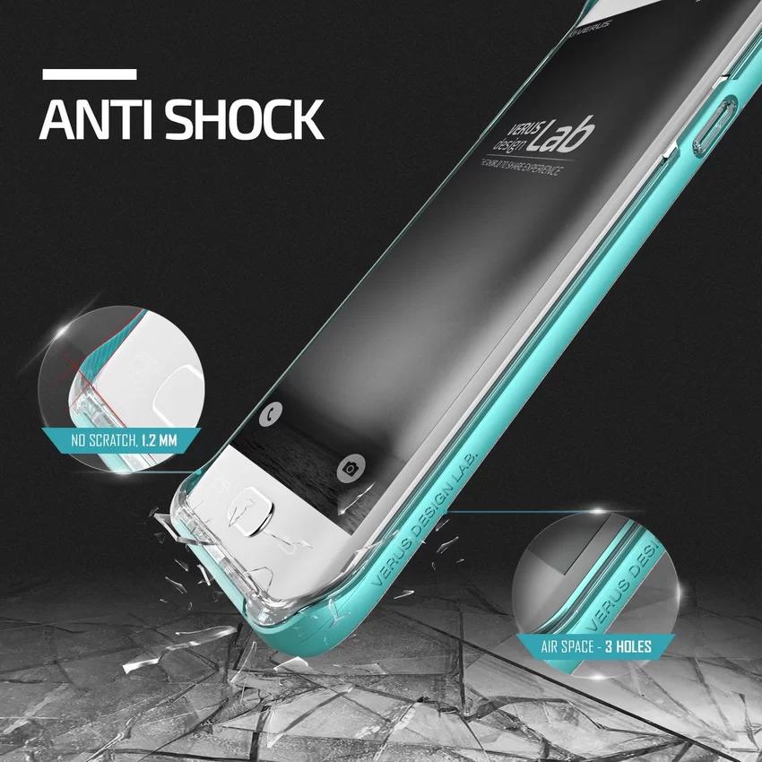 Verus Samsung Galaxy S6 Edge Plus Crystal Bumper - Mint