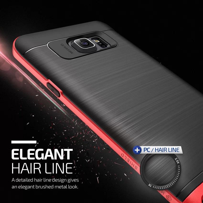Verus Samsung Galaxy Note 5 High Pro Shield - Crimson Red