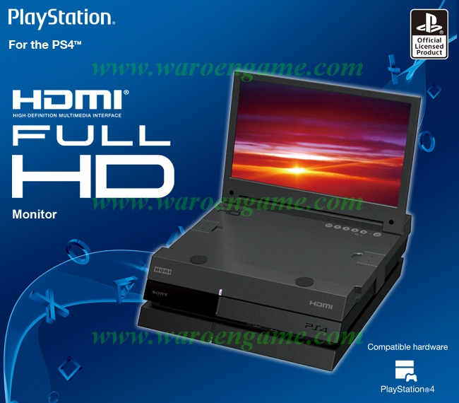 PS4 HORI Full HD Monitor