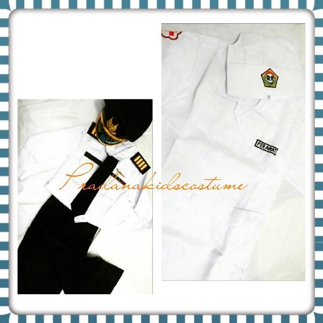 Baju Profesi: Perawat untuk Anak Usia 4-6 tahun (size 3,4,5)