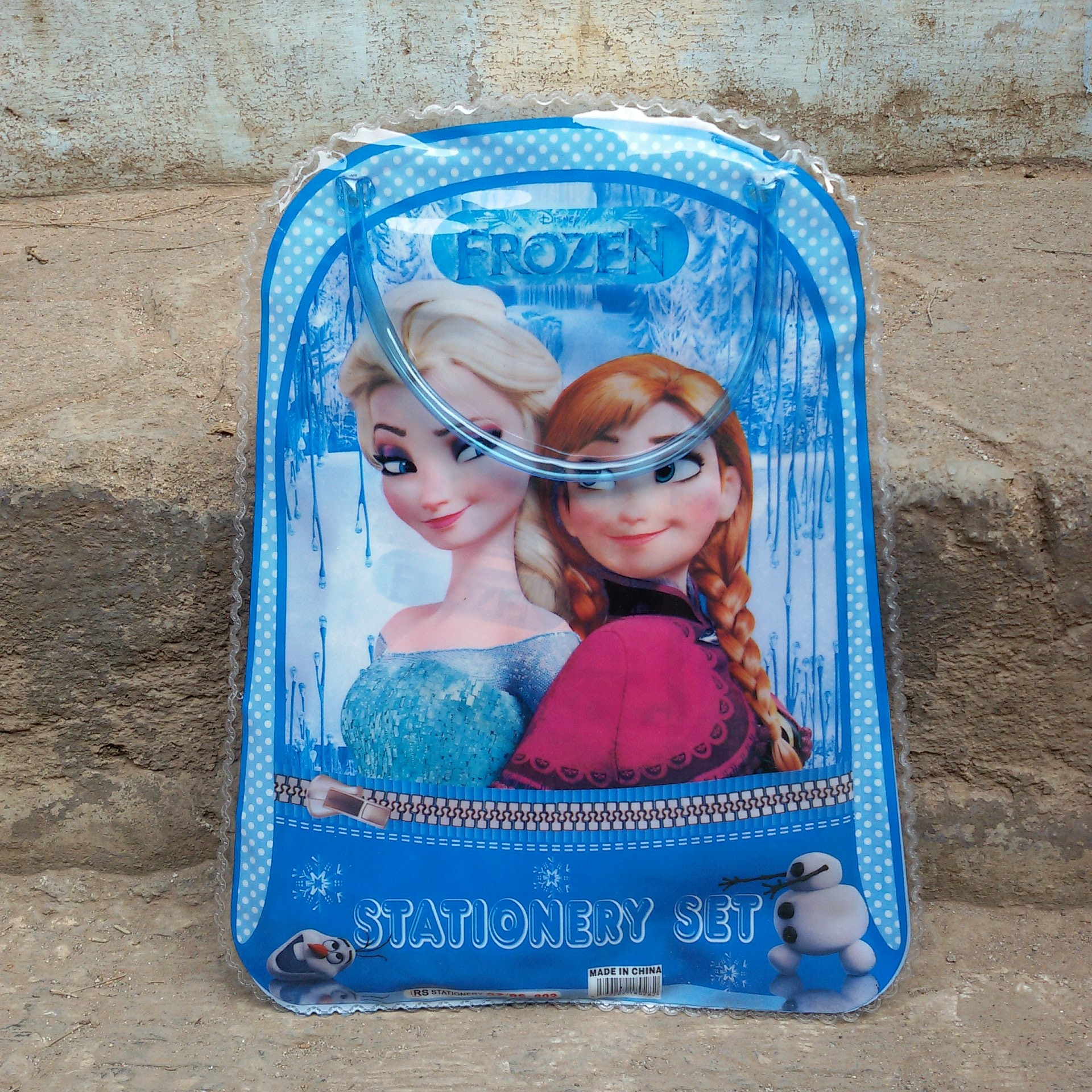 Jual Paket Alat Tulis Set Tas Jinjing Mini Frozen Blue Stationery 1 Gift Kellybutiq Tokopedia