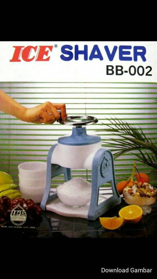 serutan es manual / ice shaver