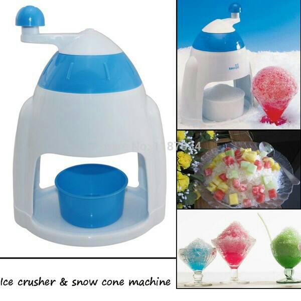 ice shaver snow cone/serutan es manual