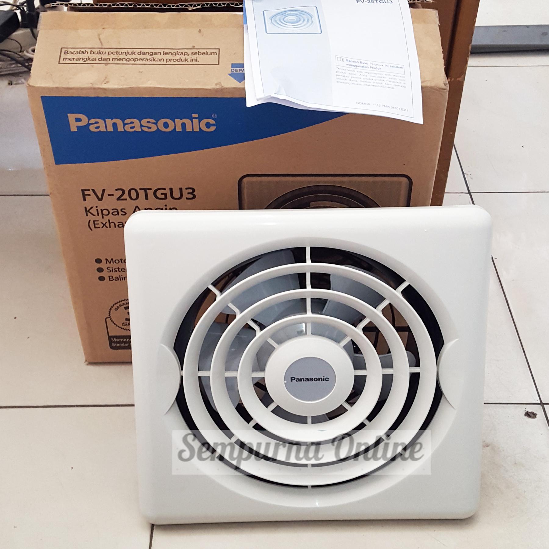 Panasonic Ceiling Exhaust Fan 8 Inch Fv 20tgu Bottlesandblends