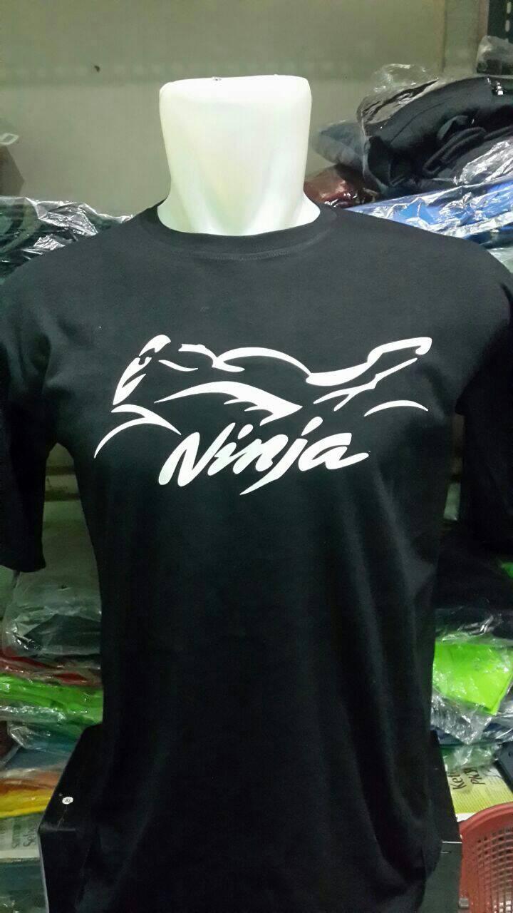 tshirtt shirtkaos distro ninja kawasaki (black)