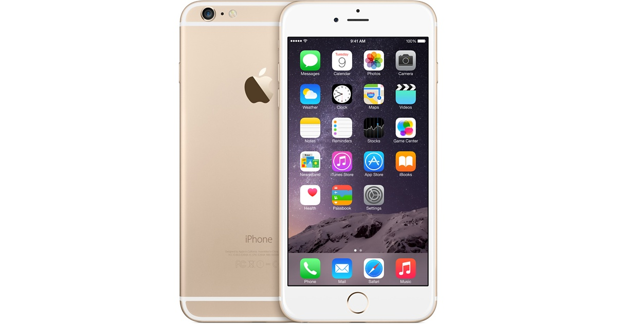 iPhone 6 Plus 64gb Gold