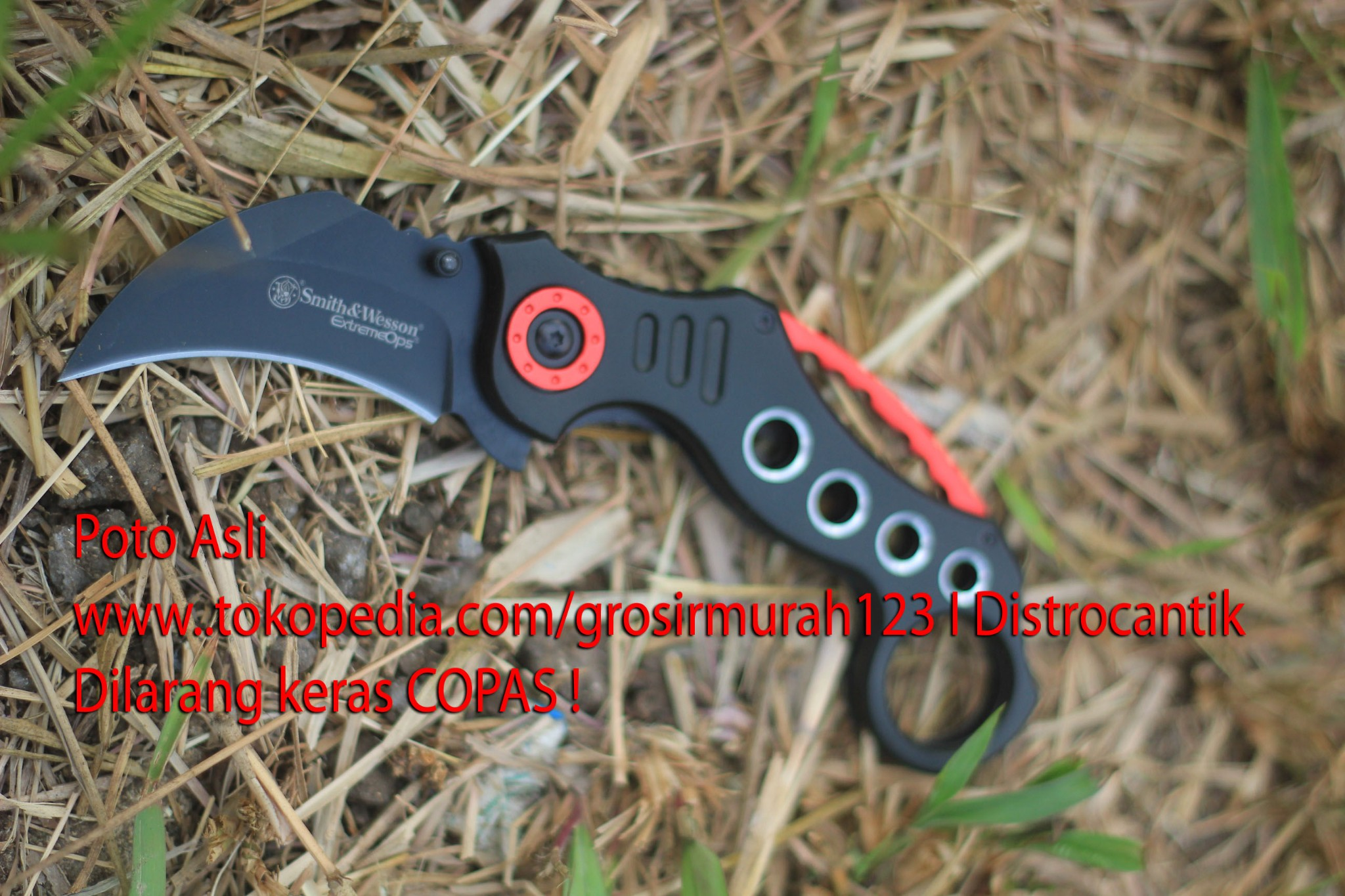harga New Kerambit SMith N Weason Knife / Pisau Lipat outdoor Model Black Tokopedia.com