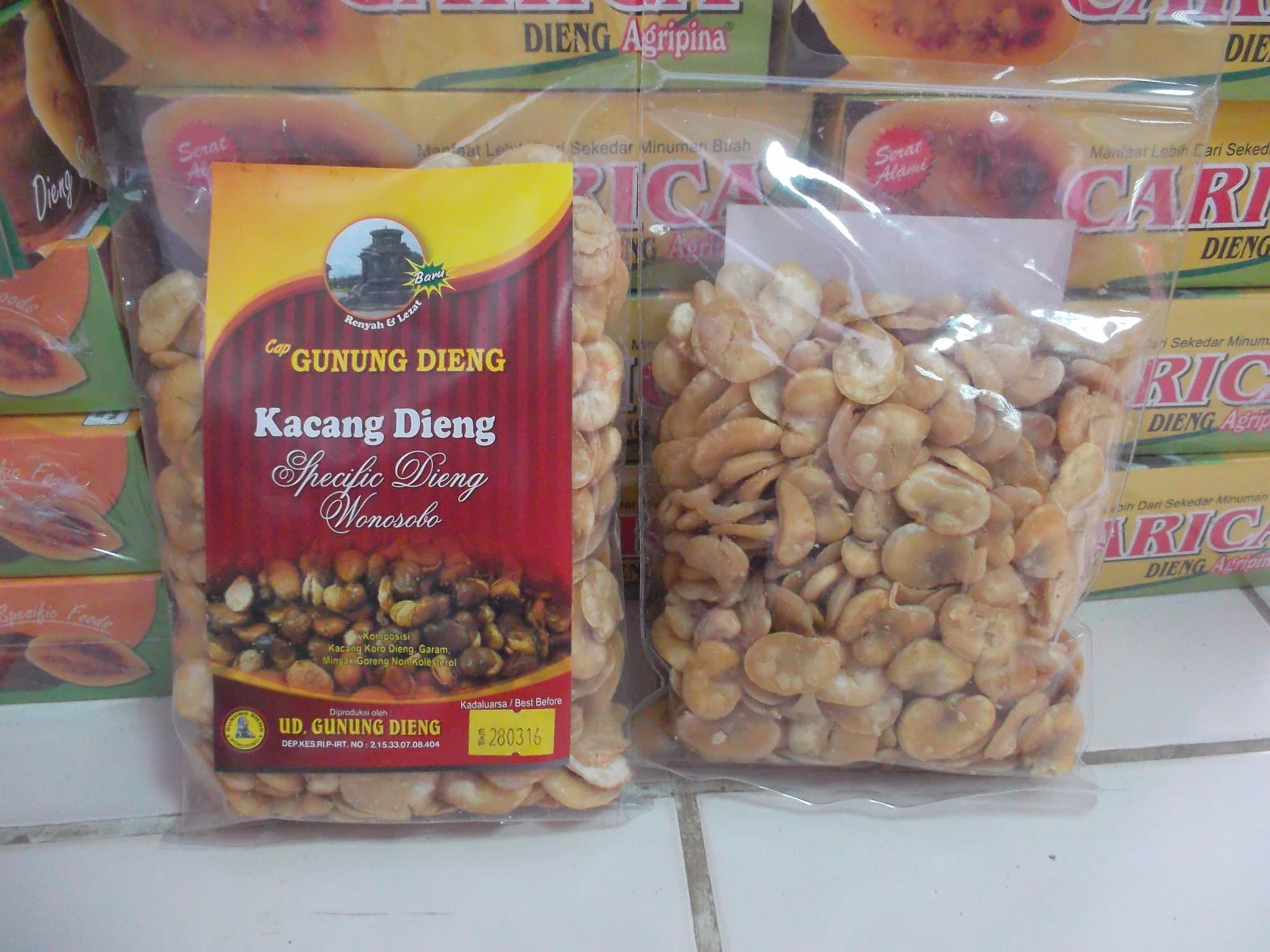 Hasil gambar untuk Kacang Dieng wonosobo