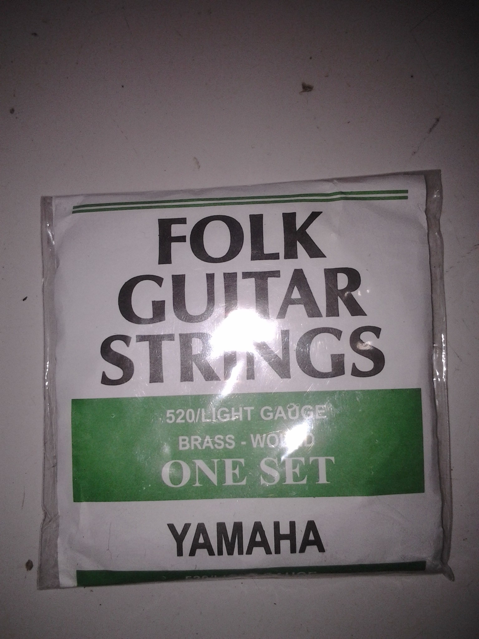 Senar Gitar Akustik Yamaha Folk Guitar Strings (1 set)