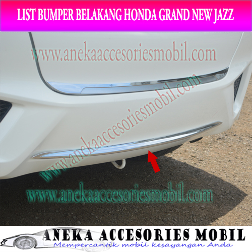 List Bumper Belakang Mobil Honda Grand New Jazz