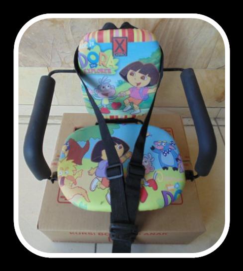 Kursi Bonceng Anak Motor Matic Dora