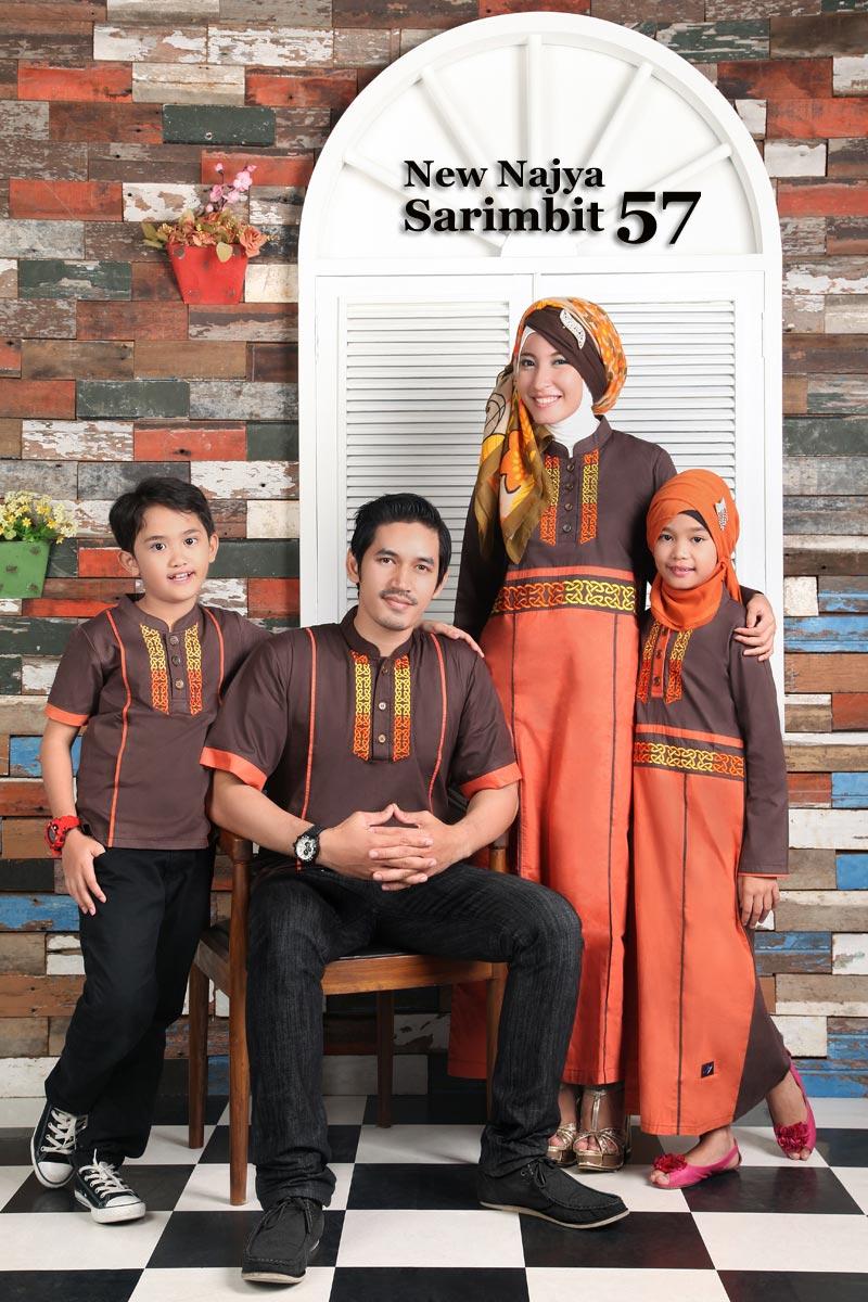 Najya Sarimbit 57 - Katun Twill - Jual Hijab & Baju Keluarga Muslim