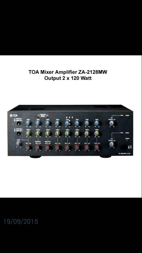 Mixer Ampli Toa ZA 2128MW ( ORIGINAL )