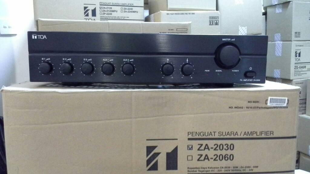 Mixer Ampli Toa ZA 2030 ( ORIGINAL )